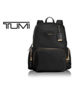 TUMI Voyageur Calais Backpack Black Color Backpack 0484707D with Free Gift - $399.00