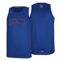 New York Knicks Men's Refract Tank Top Shirt NBA Basketball adidas