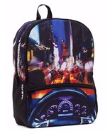 Mojo Nyc Crusin Led Lichter Dashboard Auto City Punk Schulbuch Tasche Ru... - $37.41