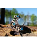 Haunted Lady of the Lake Ring of Rare Magick & Ancient wisdom of Sorcery - $377.77