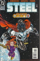 (CB-6} 1996 DC Comic Book: Steel #11 - $2.00