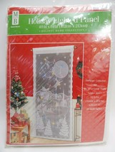 Lighted Santa Sleigh Lace Curtain Panel Wall Window Holiday Home Decor L... - $19.79