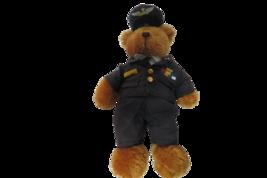 "Teddy Bear Plush Air Force Uniformed Teddy Bear Plushland 2006 10"" Tall - $10.89"
