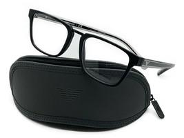 Emporio Armani Rectangle Eyeglasses EA3108 5042 Size: 53mm Matte Black E... - $67.87