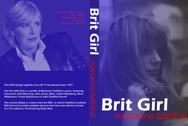 MARIANNE FAITHFULL - BRIT GIRL DVD - $23.50