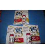 Schiff Move Free Ultra 3 Bottles 75 Tablets Supports Joints Cartilage Bone - $93.09