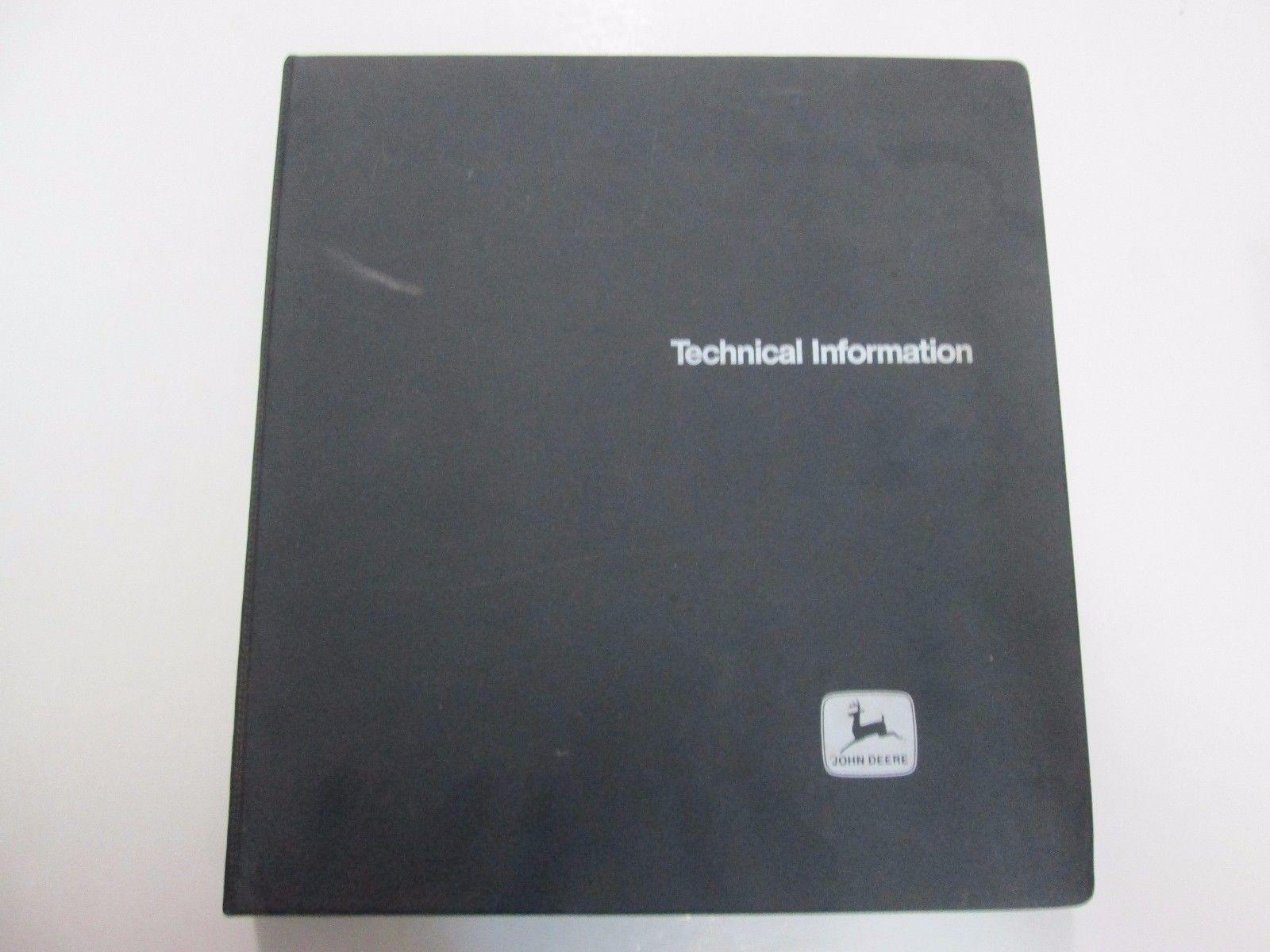 John Deere Trimmer Edgers TM-1156 Technical Manual BINDER STAINED FACTORY  OEM 87