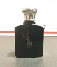 Polo Black Cologne Mini Ralph Lauren EDT Mens .5 oz / 15 ml EDT Full Bottle - $14.84
