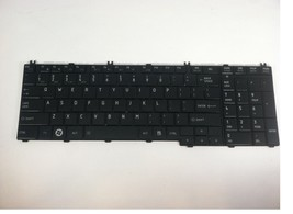 OEM Toshiba Satellite L655 L655-S567 US Keyboard AEBL6U00110-US MP-09M83... - $13.98