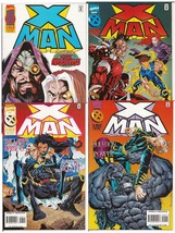 Marvel X-Man Lot Issues #3, 6, 7, & 9 Age Of Apocalypse Selene Question ... - $11.95
