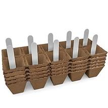 Seed Starter Peat Pots Kit   Germination Seedling Trays are Biodegradabl... - $8.86