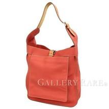 HERMES Marwari GM Taurillon Clemence Sanguine Shoulder Bag #P Authentic ... - $1,620.40