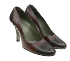 COLE HAAN Womens Two Tone Leather Classic Pumps Heels Career Size 6.5 B ... - $29.65