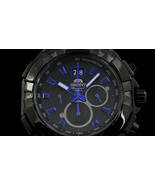 Orient Enterprise FTV00001B0 TV00001B Quartz Chronograph PVD Sports - $49.50