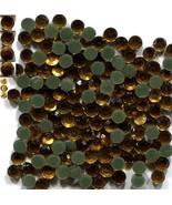 Rhinestones 20ss 5mm TOPAZ  CRYSTAL  Hot Fix  1 Gross - $4.24
