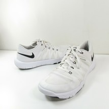 Nike Free Trainer 5.0 V6 TB Flywire Mens Sz 14 White Running Shoes 72398... - $39.59