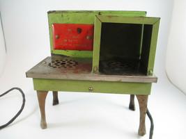 Coca-Cola Rare 1930s Electric Metal Toy Stove Original Cord Advertising - $371.25