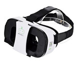 FiiT VR 2s Virtual Reality 3D Video Helmet Glasses - White + Black