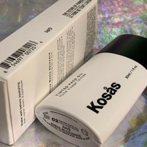 New In Box Kosas Tinted Face Oil - Tone 02 Clean Beauty The Future Of Foundation image 2
