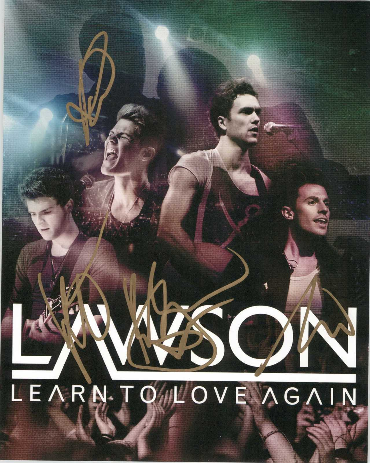 Primary image for Lawson Band Signed Autographed Glossy 8x10 Photo