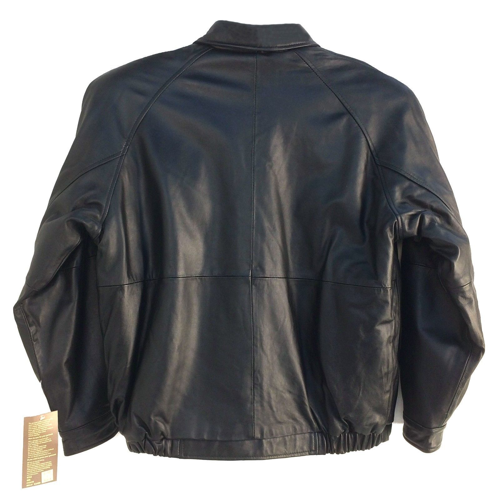 Assorted Brands ,Vintage, Men's Genuine Leather Bomber (Short) Jacket, Group-2 image 3