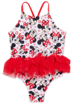 MINNIE MOUSE DISNEY UPF-50+ Swim Bathing Suit NWT Toddler's Size 2T or 4T - $18.10