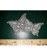 """20AA60 DIECAST BUTTERFLY """"MEDALLION"""", MIGHT WORK WELL FOR A WIND CHIME O... - $5.84"""