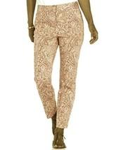 Charter Club Women's Pants Paisley Slimming Slim Leg Ankle Petite 6 MRSP... - $19.79
