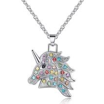 Fashion Unicorn Choker Necklace Lovely Women's Pendant Clavicle Necklace... - $8.09