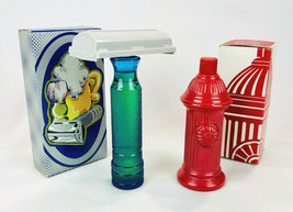 Avon Vintage Lot of 2 1973 Super Shaver & Fire Hydrant After Shave Decan... - $19.60