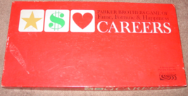 CAREERS GAME OF FAME FORTUNE & HAPPINESS 1965 PARKER BROTHERS COMPLETE E... - $20.00