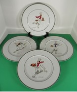 Williams Sonoma Guy Buffet SKATING CHEFS Dinner Plate (s) LOT OF 4 - $59.35