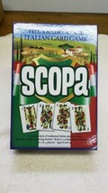 Scopa -Traditional Italian Card Game by Pressman 2013 - $23.31
