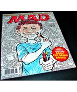 MAD Magazine 539 June 2016 ADULT COLORING BOOKS Trumpmania Alfred E Neum... - $12.99