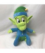 "Universal Studios Simpsons Happy Green Elf Plush 17"" Park Exclusive - $19.79"