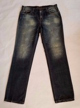 London Jeans Women's Jeans Size 8 Distressed Straight Leg - $4.99