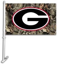 Georgia Bulldogs G Car Truck Premium Flag Window Banner + Pole camo - $13.98