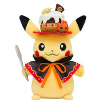 Pikachu Plush Doll We Are Team Treat Halloween Pokemon Center Japan - $51.00
