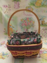 Longaberger Baskets 1998 Easter Series Small Easter Basket Combo - $75.00