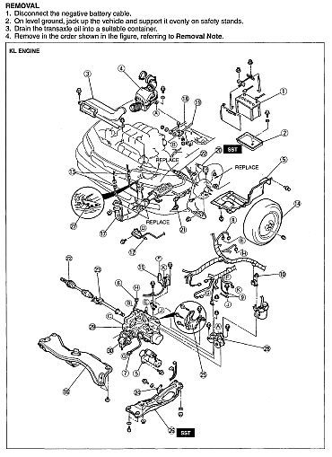 MAZDA MX-6 MX6 1993 1994 1995 1996 1997 FACTORY SERVICE REPAIR WORKSHOP MANUAL