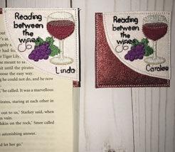 Corner page wine bookmark - $6.00