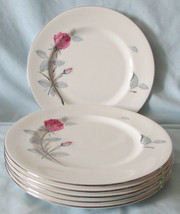Zylstra Trent Rose England Salad Plate Set of 6 - $48.30