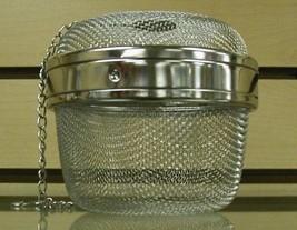 Stainless Steel Locking Spice Mesh Ball, Tea Strainer, Tea Infuser, Gian... - £14.23 GBP