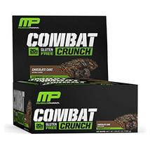 MusclePharm Combat Crunch Protein Bar, Multi-Layered Baked Bar, 20g Prot... - $32.66