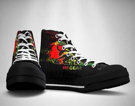 Rasta Reggae  Canvas Sneakers Shoes - $49.99
