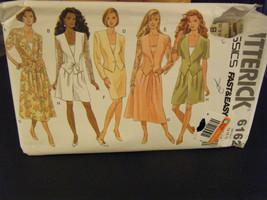 Butterick 6162 Misses Unlined Jacket, Skirt, Shorts & Top Pattern - Sz 1... - $11.34