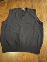 Ralph Lauren RRL Double R L 100% Lambs Wool Sweater Vest Men's Size XL E... - $198.00