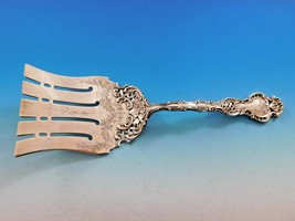 "Regent by Durgin Sterling Silver Asparagus Fork Brite-Cut Swag Pierced 9 7/8"" - $1,309.00"