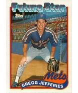 Gregg Jefferies 1989 Topps Future Star  #233 Mets - $6.86