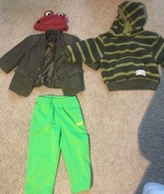 A Bundle Of 4 Items 18-24 Months Hat 2 Jackets And Pants Baby Boys - $5.00